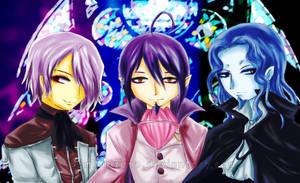 I like crossovers. by Umi-Mizuno