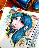 Deeper thoughts... Work in progress! by KlaraRegina