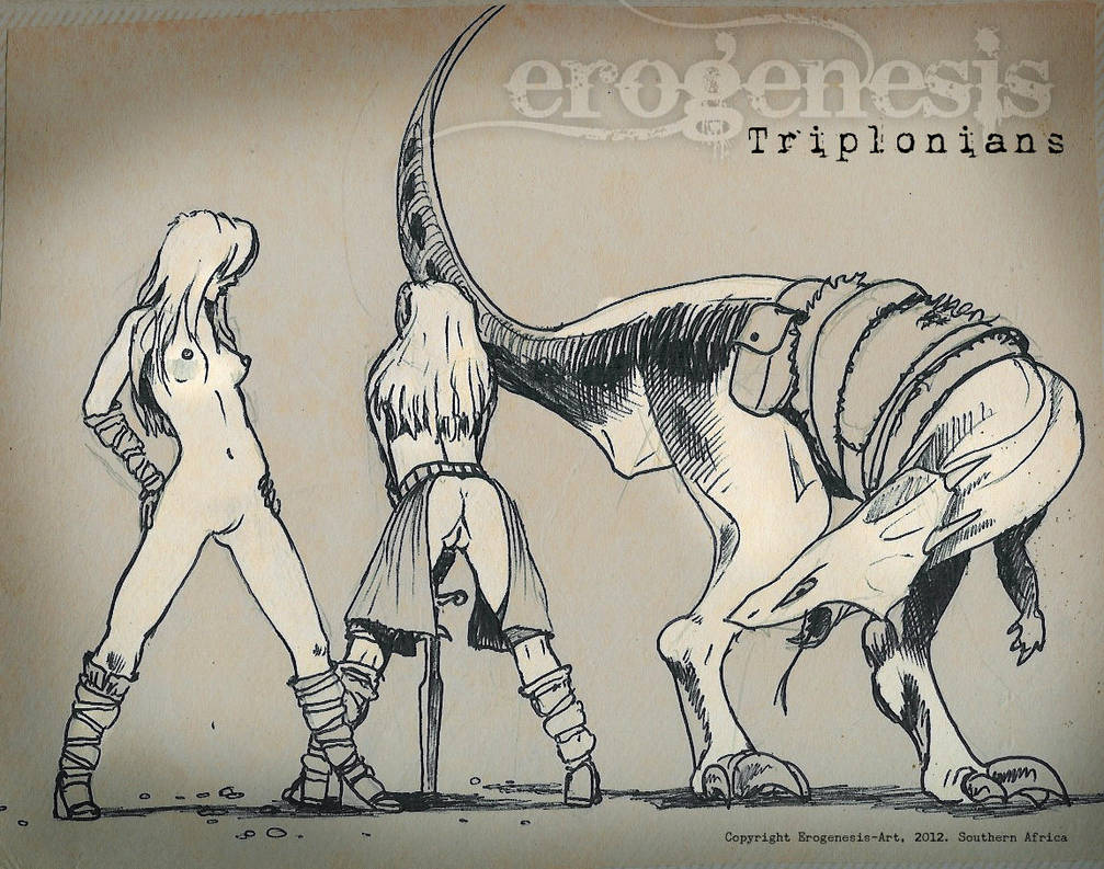 The Triplonians by erogenesisCGI