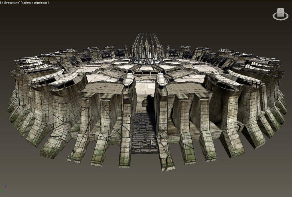 The crypt (redone) .3 by erogenesisCGI