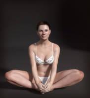 Michelle Sitting by erogenesisCGI