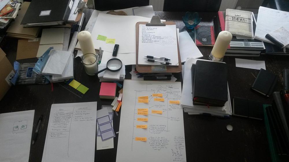 Organizing by erogenesisCGI