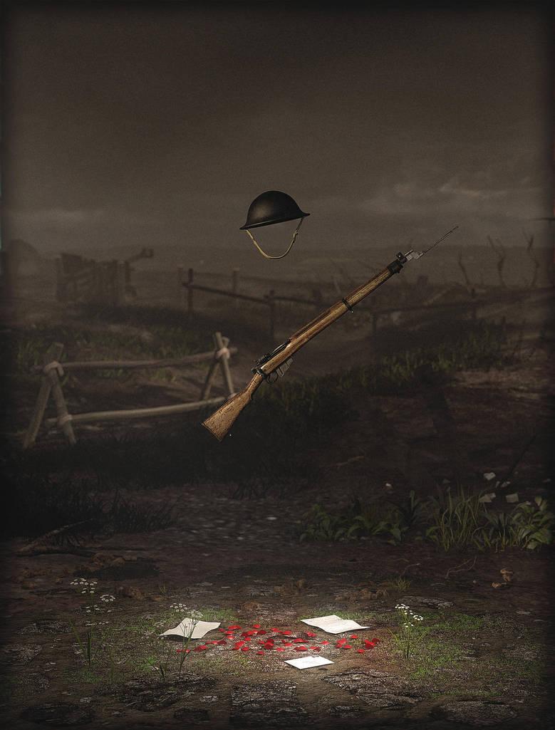 Live for me (World War 1 tribute) by erogenesisCGI