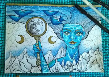 Mother Earth by CuriumLanthanum