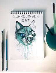 Schroedinger's Cat by CuriumLanthanum
