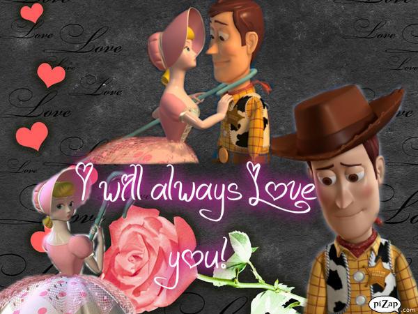 bo peep woody toy story deviantart kiss kissing jessie disney kisses always together peeps buzz google visit couples deviant toys