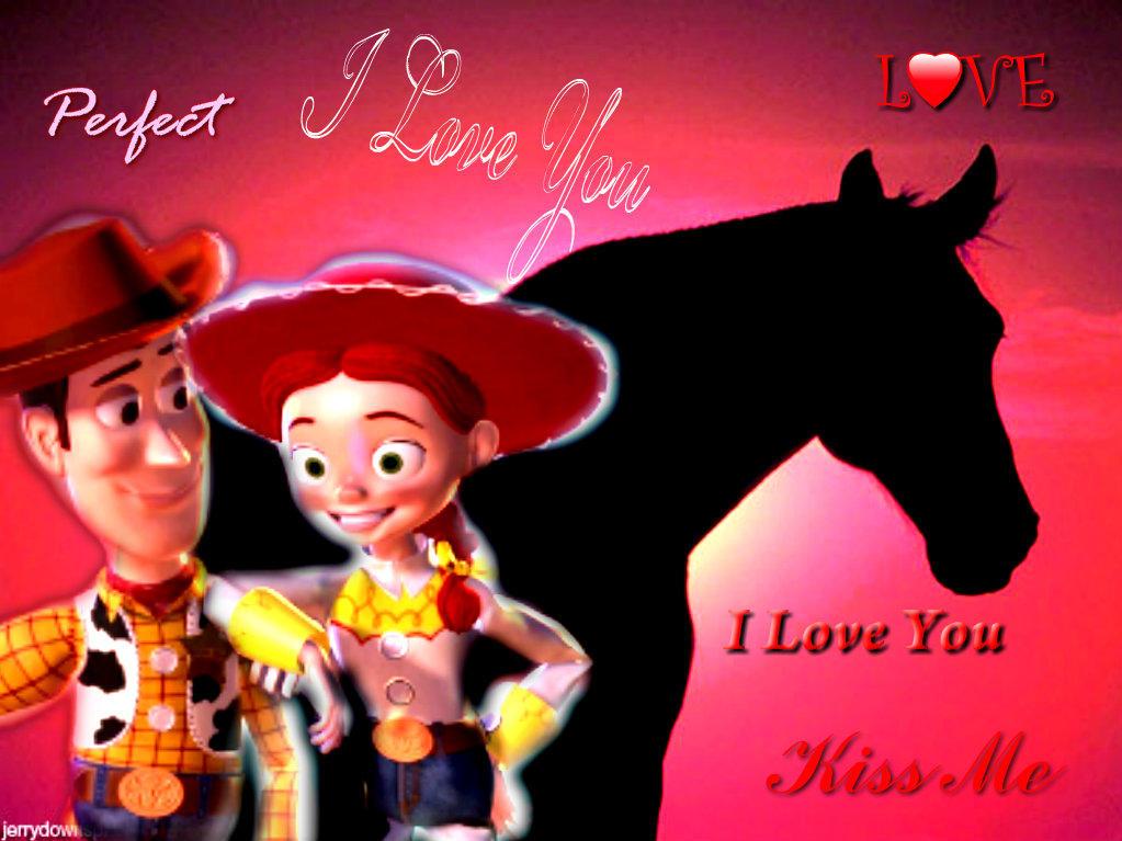 Spidyphan2 Deviantart: Woody And Jessie Love By Spidyphan2 On DeviantArt
