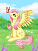 Fluttershy by Amenoo