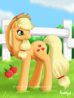 Applejack by Amenoo