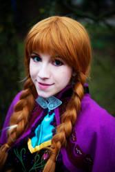 Anna from Frozen by Amenoo