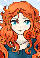 Princess Merida by mianamaxi