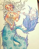 Mermaid 1 (Mermay 2018) by ChuChu-art