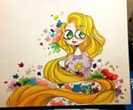 Tangled by ChuChu-art