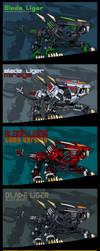 Blade Ligers by AuroraLion