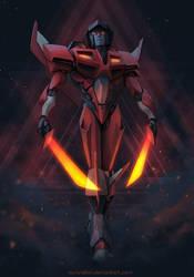 Starscream - Ruler of Cybertron by AuroraLion