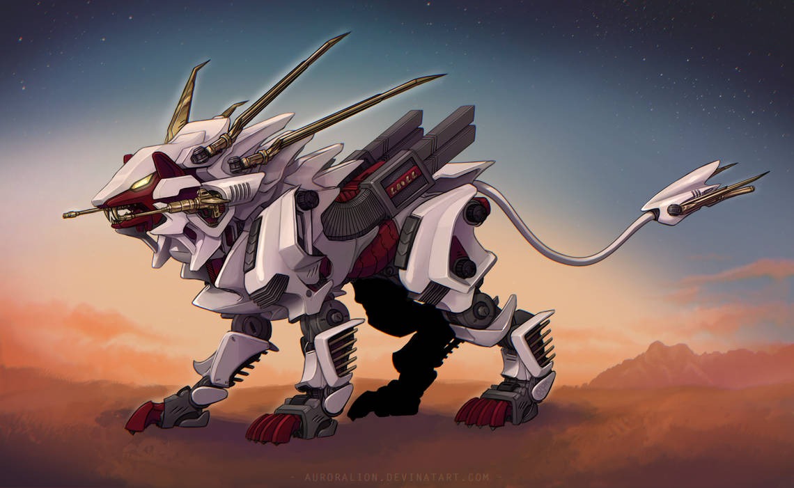 King Liger by AuroraLion