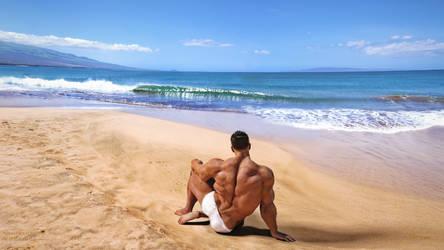 Beach Lookout by JTHMfreak