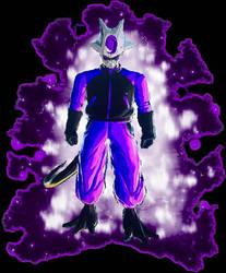 my new form dark purple ultra instinct  by XxDarksteel2002Xx