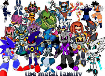 the metal family by XxDarksteel2002Xx