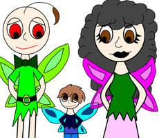 The Fairy Baldimore Family by the-grumpyfisherman