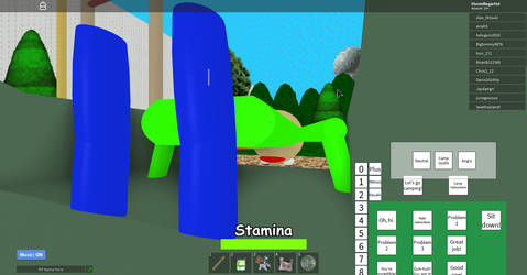 THAT'S NOT HOW YOU USE A SLIDE BALDI!(Roblox) by the-grumpyfisherman
