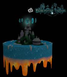 Kingdom Hearts III - Forgotten Capital by RebelliousTreecko