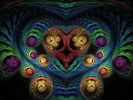 Heart of Alien Egg Chamber by wolfepaw