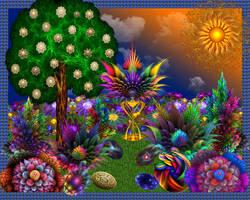 Welcome to My Apo Garden by wolfepaw