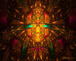 Woven Precolumbian Gold by wolfepaw