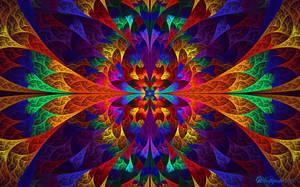 Rainbow E-Splits by wolfepaw