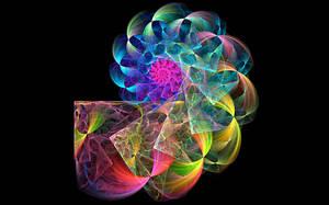 Radial Blur Sinus Spiral by wolfepaw