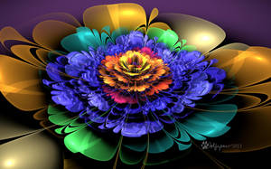 Embossed Bloom by wolfepaw