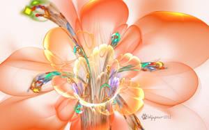 Orange Blossom by wolfepaw