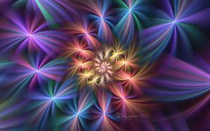 Spiral Stars by wolfepaw