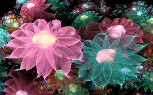 Pastel Posies by wolfepaw