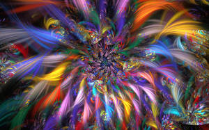 Spiral Fireworks by wolfepaw