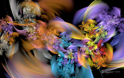 Floral Smoke by wolfepaw
