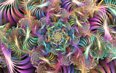 Spiral Curl Waves by wolfepaw