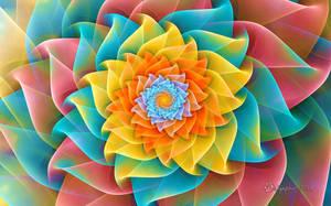 Auger Flower Spiral by wolfepaw