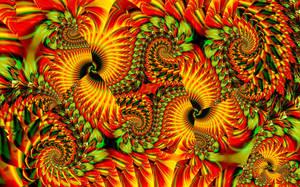 UF Chain Pong 997 - Hallow-mas Spirals by wolfepaw