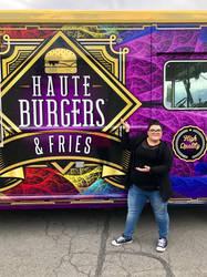Food Truck Closeup with Rainbow ESplits Fractal by wolfepaw