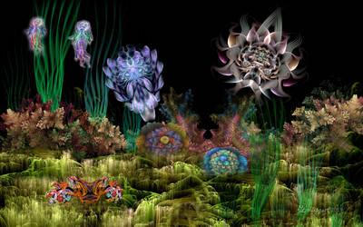 Undersea Abyss by wolfepaw