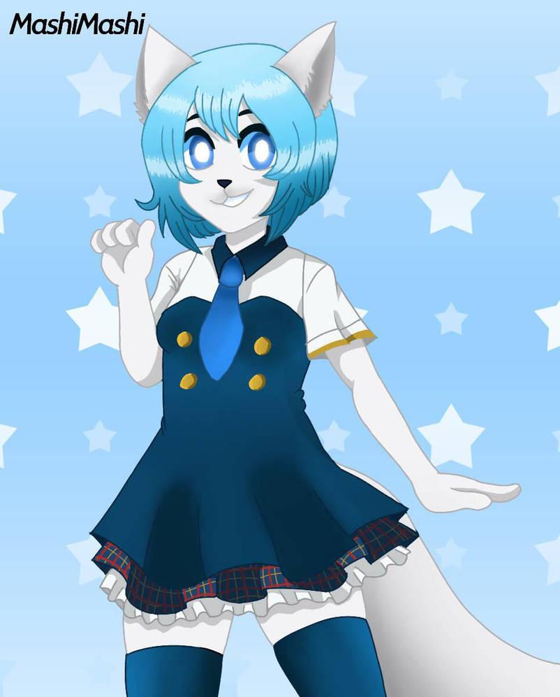 Wolfychu Fanart by MashiMashix