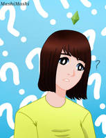 Sim!Momo Hirai Fanart by MashiMashix