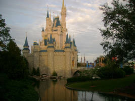 WDW - Cinderella Castle by RomeosxDistress