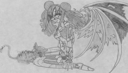 Lilith and Lucifer by Zombie-Club