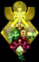 Yellow Diamond's Court by LeeVC
