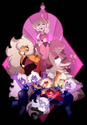 Pink Diamond's Court by LeeVC