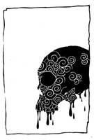 Dripping Voodoo Skull by brainsaw777