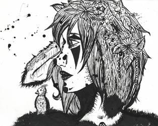 Forest Girl by MissMosquitete